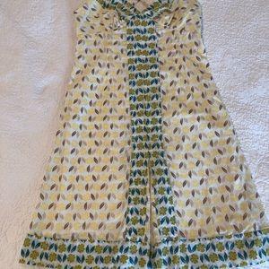 Cute, cool cotton summer dress Gap  2 adjustable